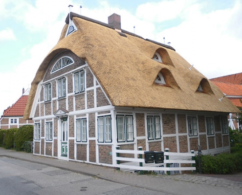 Reetdach Haus