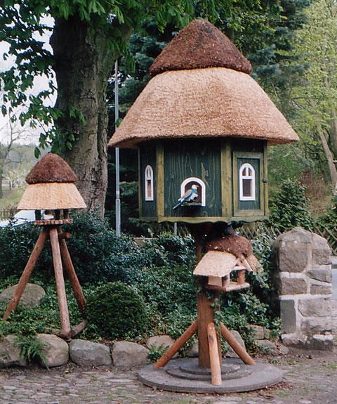 Reetdach Vogelhaus